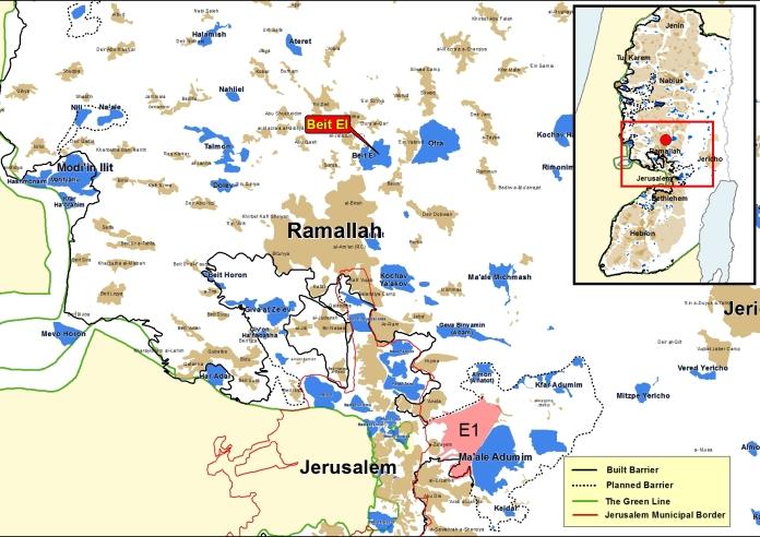 Beit El map