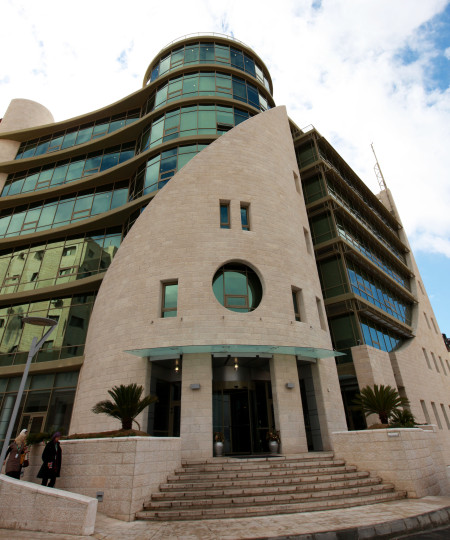 Jawwal matkapuhelinoperaattorin toimisto el-Bireh