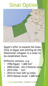 Sinai option, Ari Rusila